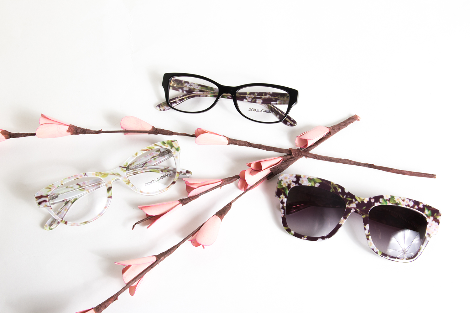 Dolce Gabbana Flower Sunglasses  dolce gabbana almond flowers sunglasses and glasses eyestyle