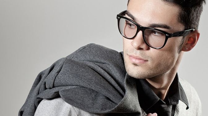 stylish mens glasses  For Guys: How to look stylish in glasses